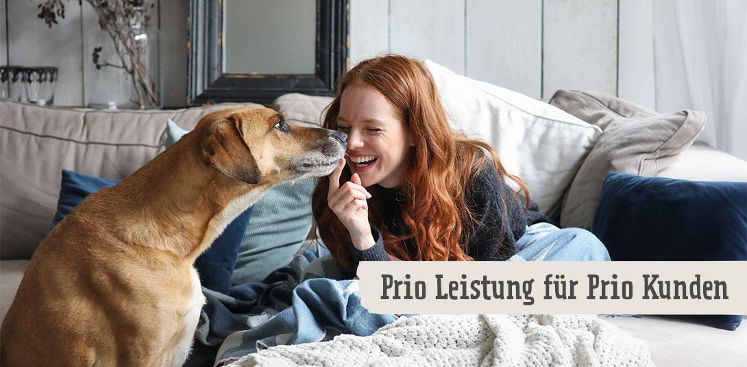 Prio Leistungen für Prio Kunden
