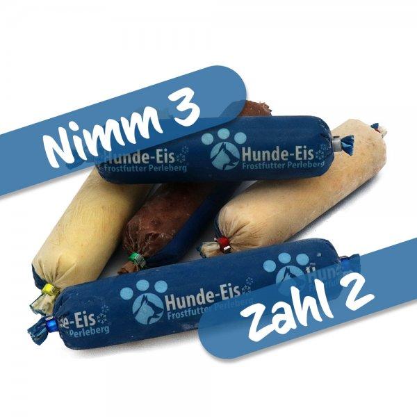 Hunde-Eis Nimm 3, zahl 2