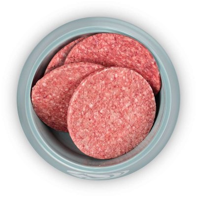 Hunde-Hamburger