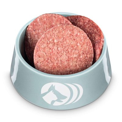 Hamburger for dogs