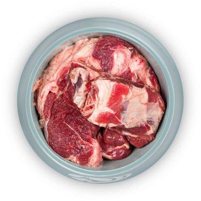 Ziegenfleisch am Stück