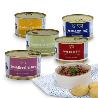 The medium-sized Wet Food Bundle