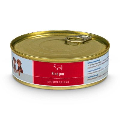 Nassfutter Rind pur