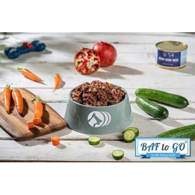 Huhn-Rind-Mix (gegart)