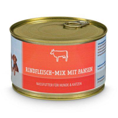 Rindfleisch-Mix mit Pansen (gegart)