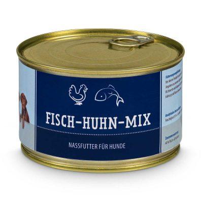 Fisch-Huhn-Mix (gegart)