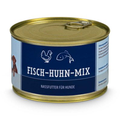 Fisch-Huhn-Mix (gegart) - BAF to GO
