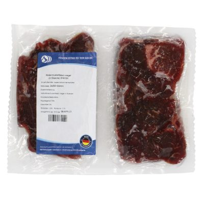Rindermuskelfleisch mager (in Stücken)