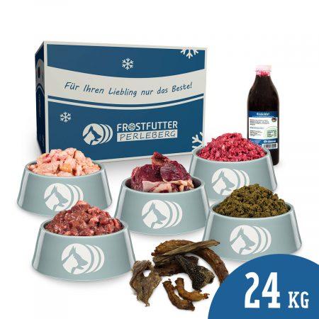 24 kg BARF-Paket Rind & Hühnerhälse