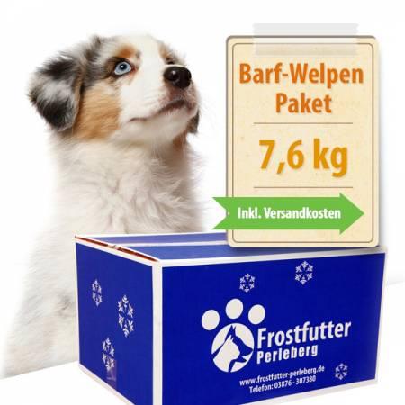 7,6 kg BARF-Welpen-Paket (ohne MineralVitPulver)