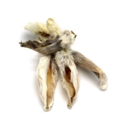 Kaninchenohren mit Fell (getrocknet)