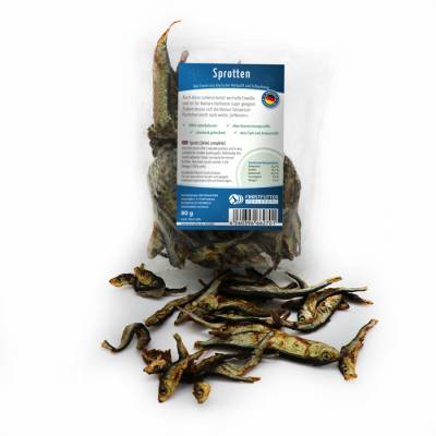 Sprats (dried, complete)