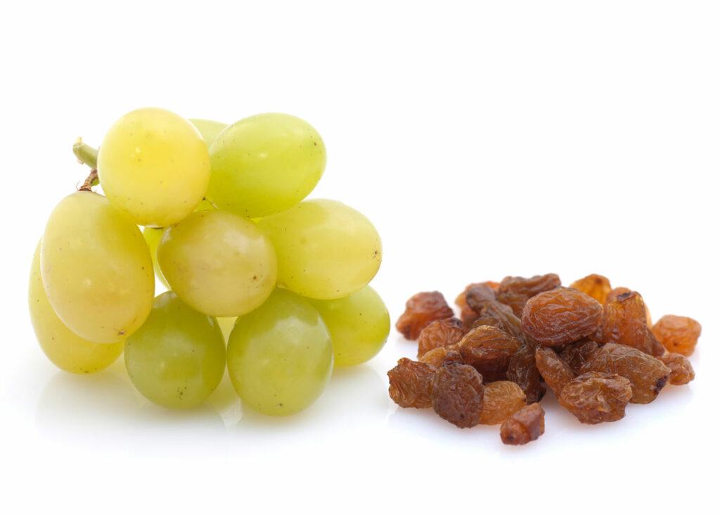 Weintrauben und Rosinen | Frostfutter Perleberg
