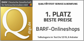 TOP - BARF-Onlineshop - dtgv.de